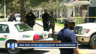 SWAT team finds man dead in apartment after he barricaded himself for hours - Video