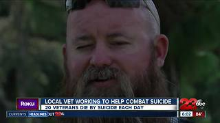 Local veteran helping to combat suicide