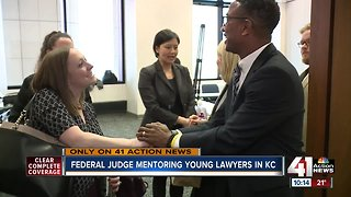 Federal Judge Brian Wimes talks mentoring young lawyers