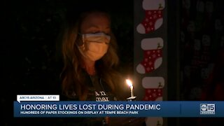 Honoring lives lost during pandemic