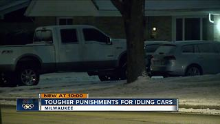 Proposal would allow Milwaukee police to ticket idling cars in private driveways - Video