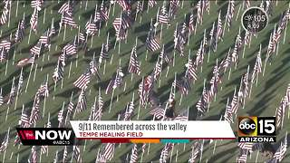 Flags placed in Tempe to honor 9/11 victims - Video