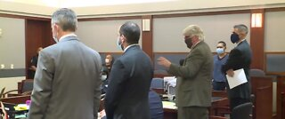 $1M bail set for man accused of shooting an officer