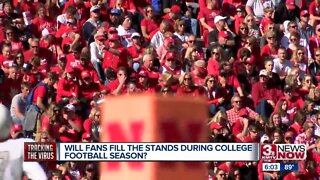 Will fans fill the stands during the college football season?