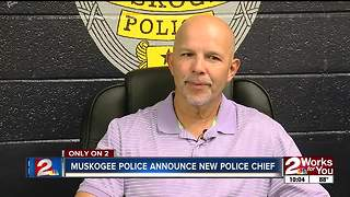 Muskogee announces new police chief - Video