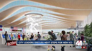 City leaders discuss next steps for new KCI - Video