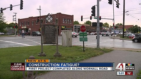 Construction-weary residents should expect more projects on Wornall Road