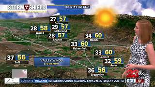 Winds bring fresh air to Kern County - Video