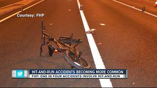 Hit-and-run accidents becoming more common