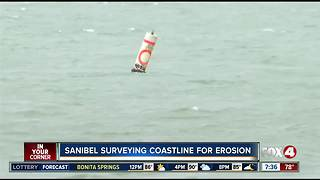 Sanibel erosion surveying underway - Video