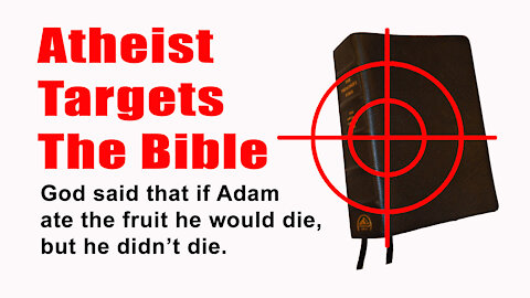 "Atheist Uses ""Christian"" Teaching To Target The Bible"