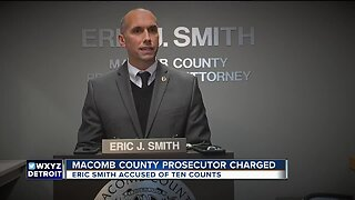 Macomb County Prosecutor Eric Smith charged in connection with spending of forfeiture funds