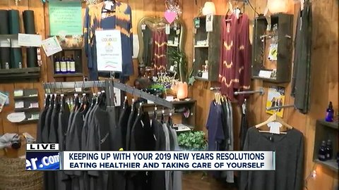 Keeping your New Years resolutions at Soma Cura Wellness Center