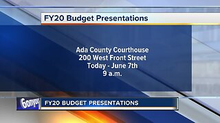 Budget presentations for Ada County departments begin Thursday