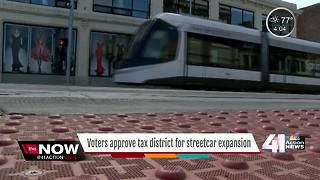 Voters approve tax district for streetcar expansion - Video