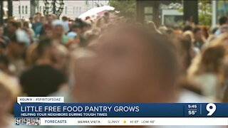 'Little Food Pantry' project is growing in Tucson