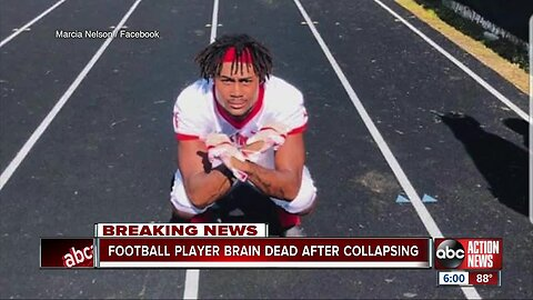 Northeast High football player brain dead after collapsing during Friday night's game, mother says