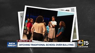 Parents ditching traditional school over bullying
