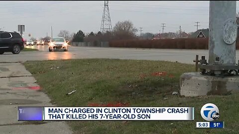 Dad charged with drunk driving in crash that killed 7-year-old son