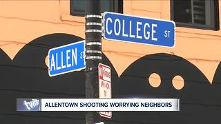 Allentown shooting worrying neighbors - Video