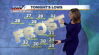 Frost advisory, freeze warnings issued Thursday night