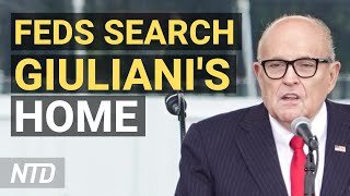 Feds Search Rudy Giuliani's Apartment, Office; Biden's First 100 Days in Review | NTD