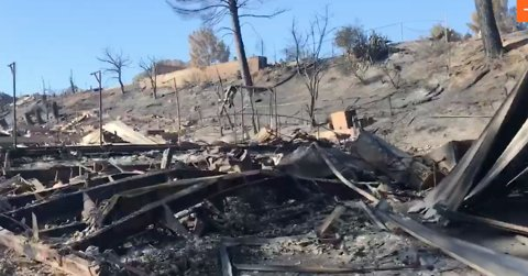 Over 400 Buildings Destroyed by California's Woolsey Fire