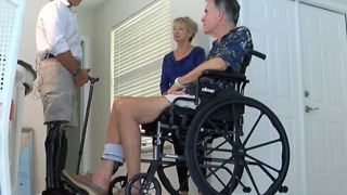 Congressman Mast visits patients in Palm City - Video