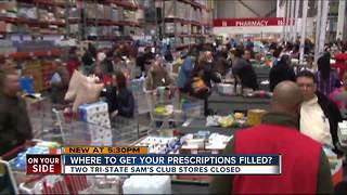 Sam's Clubs close, so where should customers get prescriptions filled? - Video