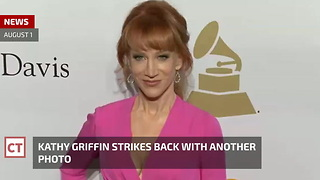 Shock: Kathy Griffin Back in the Limelight After Second Head Photo Gets Posted - Video