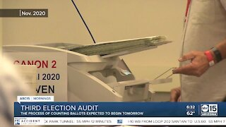 Third election audit set to begin Friday