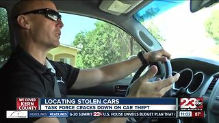 Task force cracks down on car theft - Video