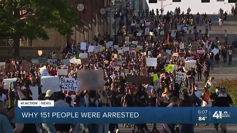 KCPD: Some arrested during protests from 'out of town'
