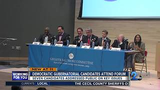 Democratic gubernatorial candidates meet for town hall - Video