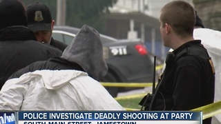Jamestown Police investigating early morning homicide - Video
