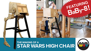 Making a Star Wars Highchair