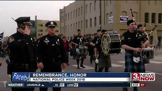 Area National Police Week events - Video