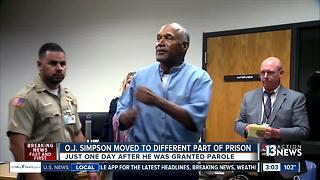 O.J. Simpson moved for safety concerns at prison - Video