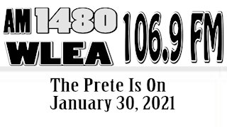 The Prete Is On, January 30, 2021