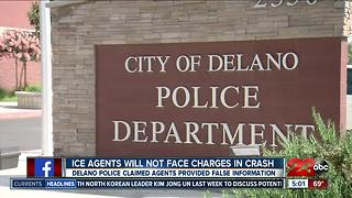 ICE agents will not face charges following deadly crash - Video