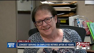 Longest Tulsa County DA employee retires after 47 years