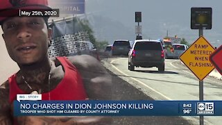 No charges in Dion Johnson killing