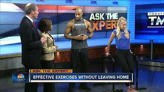 Ask the Expert: At home work outs