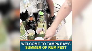 Tampa Bay's Rum Fest is the perfect way to celebrate Labor Day weekend | Taste and See Tampa Bay - Video