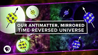 Our antimatter, mirrored, time-reversed universe