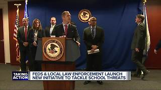 Local, state & feds introduce new initiative to address school threats