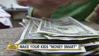 Dollars and sense: Teaching kids how to be smart with money pays off big - Video