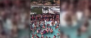 Packed pool party in The Ozarks