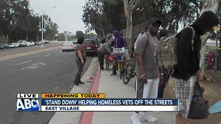 """Annual """"Stand Down"""" event for homeless vets begins"""