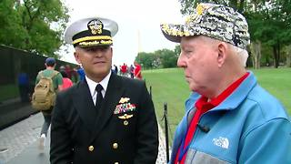 Oklahoma Honor Flight becomes family reunion for veterans